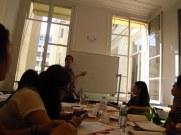 hard at work at LSI Paris