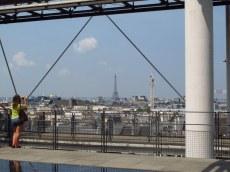 Paris from the Centre Pompidou