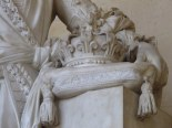 Beautiful sculpture at the Palace of Versailles