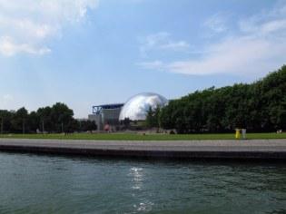 Canal St Martin - Cité des Sciences et de l'industrie, a huge interactive science museum and planetarium.