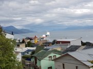View from Hosteria Patagonia Jarke in Ushuaia