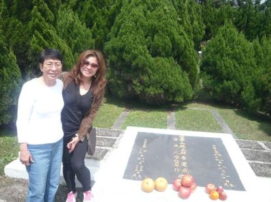 At my Grandfather's burial site