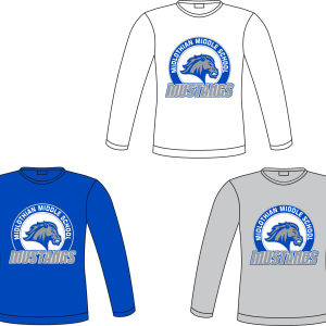 Midlothian Middle Long Sleeved Tee