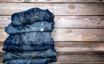 denim drive - pile of jeans