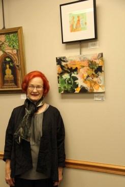 "Bobbi Kilty - Certificate of Merit ""Agave, Aeonium & Old Lace"""