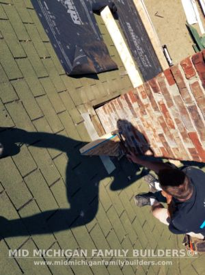 MId Michigan Family Builders Meatal Standing Seem Roof Project 06 23 2018 02