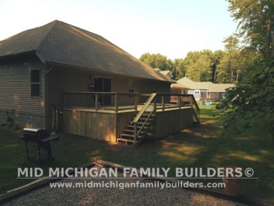 Mid MIchigan Family Builders Deck Project 07 03 2018 04