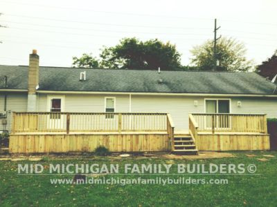 Mid MIchigan Family Builders Deck Project 10 2018 04