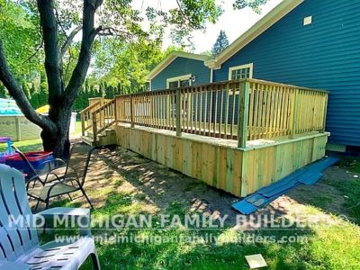 Mid Michigan Familly Builders Deck Project 07 2021 01 04