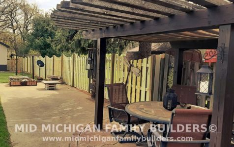Mid Michigan Family Builder Fence Project 04 2021 07 04