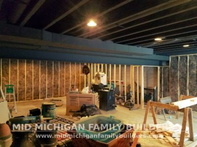 Mid Michigan Family Builders Basement Project 01 2018 01 04