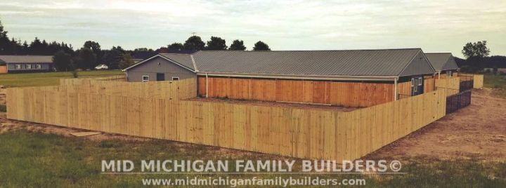 Mid Michigan Family Builders Big Fence Project 06 2019 01 01
