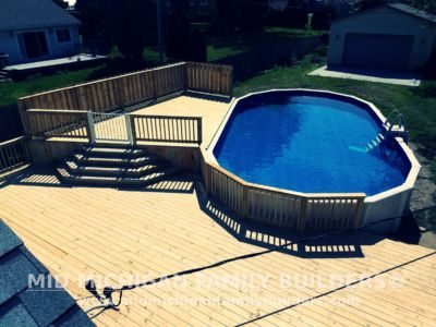 Mid Michigan Family Builders Big Pool Deck After 08 2018 02