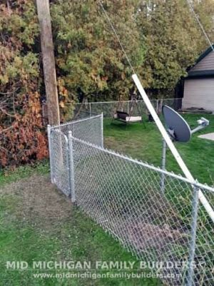 Mid Michigan Family Builders Chain Link Fence Project 10 2020 01 01