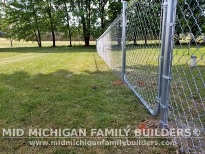Mid Michigan Family Builders Chain Link Fence Project 2020 02 01