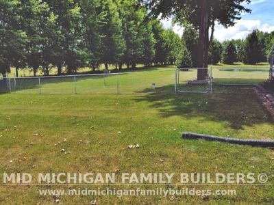 Mid Michigan Family Builders Chain Link Fence Project 2020 02 02