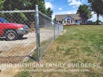 Mid Michigan Family Builders Chain Link Fence Project 2020 02 04