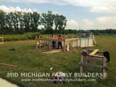 Mid Michigan Family Builders Composite Deck With Metal Railings 08 01 2018 01