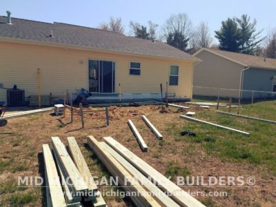 Mid Michigan Family Builders Deck Project 05 16 2018 01