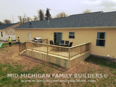Mid Michigan Family Builders Deck Project 05 16 2018 05