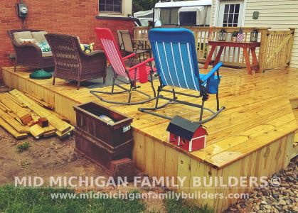 Mid Michigan Family Builders Deck Project 06 2019 02 03