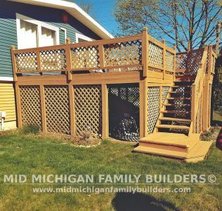 Mid Michigan Family Builders Deck Project 06 2019 03 01