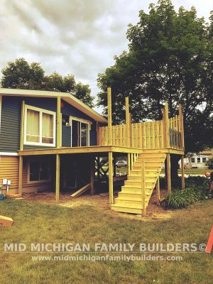 Mid Michigan Family Builders Deck Project 06 2019 03 05