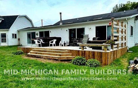 Mid Michigan Family Builders Deck Project 07 2021 02 01