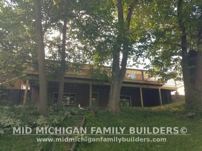 Mid Michigan Family Builders Deck Project 08 2019 02 05