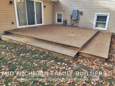 Mid Michigan Family Builders Deck Project 10 2020 02 01