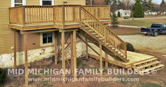 Mid Michigan Family Builders Deck Project 11 2020 01 02