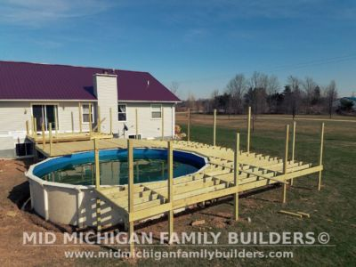 Mid Michigan Family Builders Deck Project Pool 05 11 2018 01
