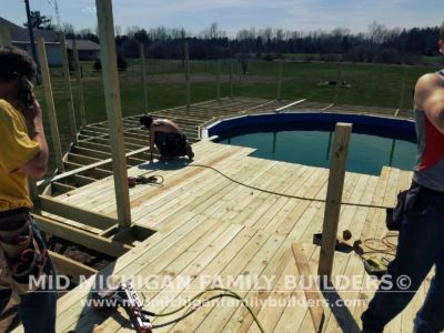 Mid Michigan Family Builders Deck Project Pool 05 11 2018 02