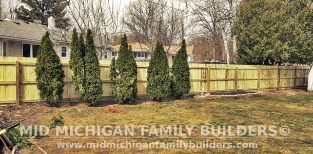 Mid Michigan Family Builders Fence Project 03 2021 01 01