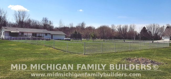 Mid Michigan Family Builders Fence Project 04 2021 04 02