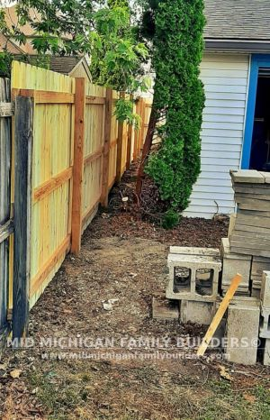 Mid Michigan Family Builders Fence Project 06 2021 05 05