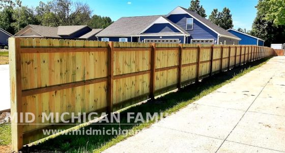 Mid Michigan Family Builders Fence Project 06 2021 06 01