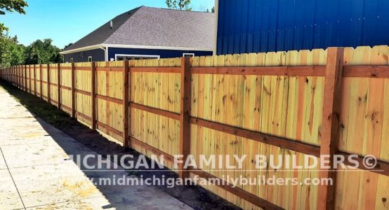 Mid Michigan Family Builders Fence Project 06 2021 06 04
