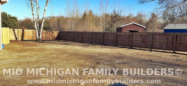 Mid Michigan Family Builders Fence Project 11 2020 02 03