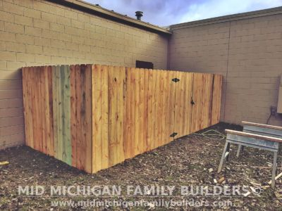 Mid Michigan Family Builders Fence Project 2019 01 02