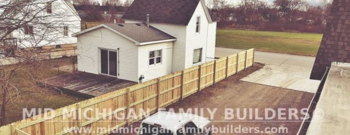 Mid Michigan Family Builders Fence Project 2019 01 03