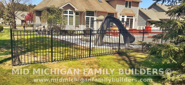 Mid Michigan Family Builders Fence Project 5 2021 01 03