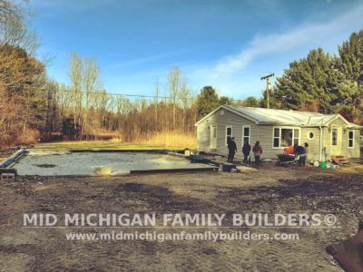 Mid Michigan Family Builders Home Addition Framing 02 2020 01 01