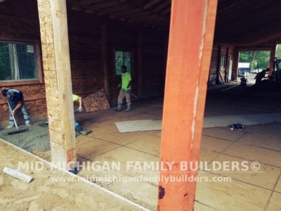 Mid Michigan Family Builders Huge Barn Project 10 2018 09
