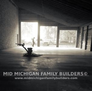 Mid Michigan Family Builders Huge Barn Project 10 2018 13