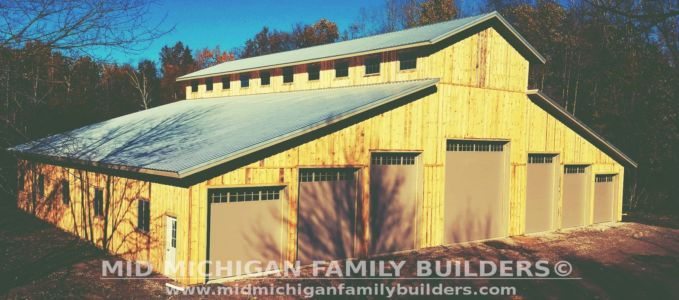 Mid Michigan Family Builders Huge Barn Project 10 2018 16