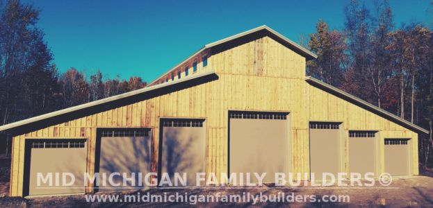 Mid Michigan Family Builders Huge Barn Project 10 2018 18