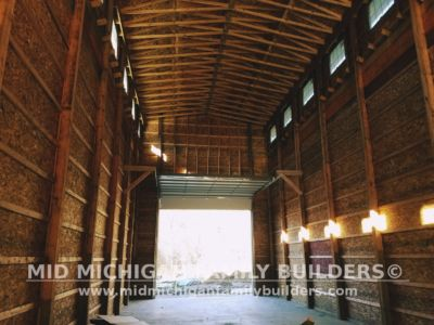Mid Michigan Family Builders Huge Barn Project 10 2018 21