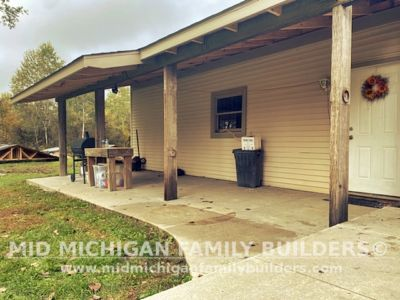 Mid Michigan Family Builders Lean To Project New 10 2021 01 04