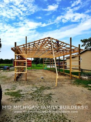 Mid Michigan Family Builders New Barn Project 08 2021 01 05
